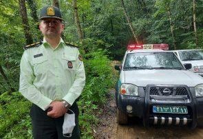 متهم تحت تعقیب پلیس مبارزه با مواد مخدر در رامسر زمین گیر شد