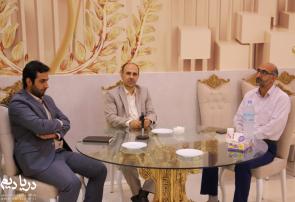 نشست خبری فرماندار و بخشدار دالخانی شهرستان رامسر برگزار شد